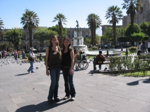 Yvonne and I in Arequipa